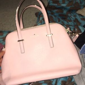 Light pink matching Kate Spade purse and wallet